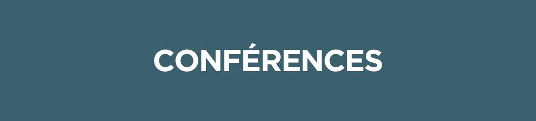 les activités - Conférences